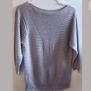 Peck & Peck Long sleeve glitter sweater